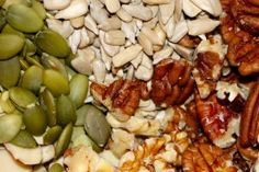 """Nuts and seeds have an excellent taste and a high energy value. Nutritionists use the term """"high energy value"""" Healthy Food, Healthy Eating, Healthy Recipes, What You Eat, Organic Recipes, Seeds, Chicken, Healthy Foods, Eating Healthy"""