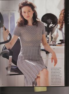 Michael Kors Crocheted Dress would be perfect with an underlining.