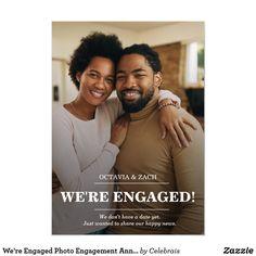 Creative Engagement Announcement, Engagement Photos Tips, Engagement Cards, Engagement Announcements, Photo Colour, Photo Tips, Portrait, Couple Photos, Engagements
