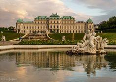 Belvedere Palace Vienna Austria, Palace, Louvre, Building, Travel, Construction, Trips, Buildings, Viajes