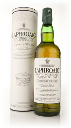 Laphroaig Triple Wood - Master of Malt. An incredible new release from Laphroaig. This was originally launched for the duty free market, and it is a tour de force from the Islay distillery. First off, they mature this in bourbon barrels, before transfer into quarter casks, and a third maturation in Oloroso sherry European oak butts. Astonishing with oodles of peat smoke and sweetness.