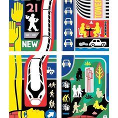 Panels (Group 1) from my mural 'Renaissance' on Leeds South Bank. #mural #streetart #streetartist #babylon #egypt #dibond #locomotive #mindmap #popsurrealism #comicbooks #comicbooks #comics #graphicdesign #streetsign #tarot #hieroglyphics #vectorart #colorful #infographic #hs2 #tarot #bridgewater