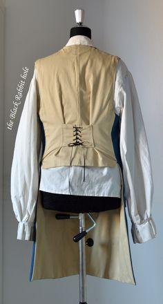 Captain Hunter's waistcoat. #blackrabbithole #larp #pirate