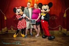 Disney Maternity Photos