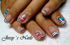 (notitle) - tips - Nagel Nail Swag, Creative Nail Designs, Creative Nails, Mani Pedi, Manicure And Pedicure, Shellac, Animal Nail Art, Nail Polish Designs, Nails Design