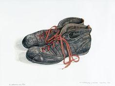 Een schilderij van Jopie Huisman.