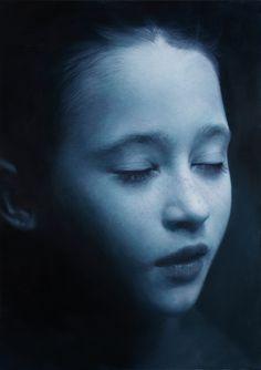 Gottfried Helnwein | WORKS | Mixed Media on Canvas | test