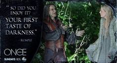 Rumple talking to Emma about being the new Dark One.