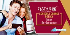 QATAR AIRWAYS SCHEDULE CHANGE POLICY AND TICKET RE-ISSUANCE  The #ScheduleChangePolicies are used to get a better routing than the original. Any schedule change should allow a re-routing or refund.  The procedures of changing a flight depend on the specific situation. So, check the #QatarAirways #ScheduleChangePolicy and other guidelines related to a #TicketRefund and rebooking.