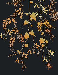 Vine Stencils Wild Vetch Clematis Bean Stencil