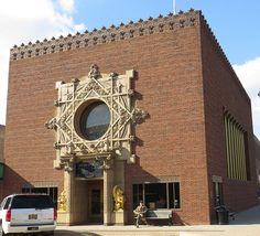 Louis Sullivan. Merchants National Bank. Grinnell, Iowa. 1914