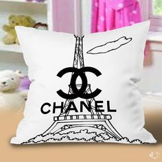 Chanel Paris Pillow cases cheap and best quality. *100% money back guarantee