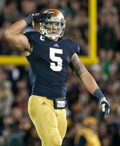 Manti Te'o is a monster. Notre Dame > Alabama