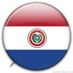 Paraguay flag badge