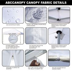 ABCCANOPY Tents Canopy Tent 10 x 10 Pop Up Canopies Commercial Tents Market stall with 3 Removable Sidewalls and 1 Door Wall Bonus 4 Weight Bags -- (paid link) Be sure to check out this awesome product.