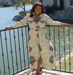 Ankara print dress by #thatssewmonica #ankarashirtdress