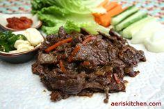 Beef BulGoGi | Aeri's Kitchen | Cooking Korean Recipes & Food