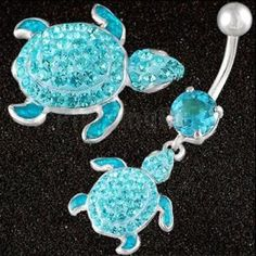 For Meadow: turtle belly button ring belly rings Belly Button Piercing Jewelry, Bellybutton Piercings, Cute Piercings, Piercing Ring, Body Piercings, Ear Gauges, Cute Belly Rings, Belly Button Rings, Jewelry Tattoo