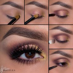Beautiful Eye Makeup !! #elymarino