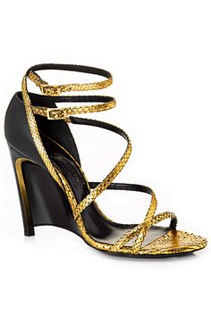 Designer Clothes, Shoes & Bags for Women Pretty Shoes, Beautiful Shoes, Hot Shoes, Wedge Shoes, Wedge Sandal, Lanvin, Pumps, Heels, Jimmy Choo