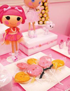 Pretty & Pink Princess Lalaloopsy Party