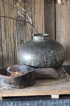 Pot, kruik, metaal nr 3 | - Nieuwe collectie | Styling & Living