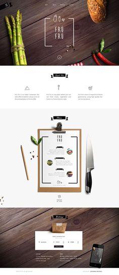 Unique Web Design, Frú Frú #WebDesign #Design