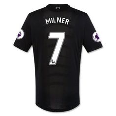16-17 Liverpool Football Shirt Away Cheap #7 MILNER Jersey [F434]