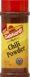 Greater Gourmet- Gourmet Seasonins, Gebhardt Chili Powder