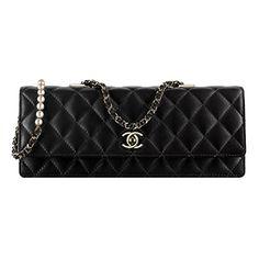 Chanel Flap Bag Handbag Lamskin Article  A98571 Y61083 94305 Black Made in France  Chanel Bags db959be050