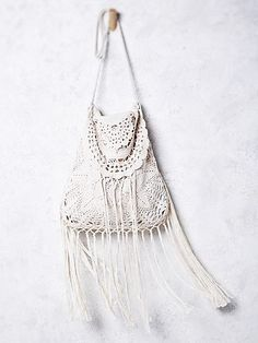 Crocheted bag in hippie boho bohemian gypsy style. For more follow www.pinterest.com/ninayay and stay positively #pinspired #pinspire @ninayay