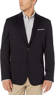 Amazon.com: Amazon Essentials Men's Knit Sport Coat: Clothing