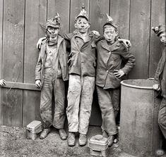 Coal breaker boys - Kingston, PA 1900