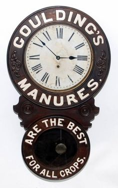 Baird Advertising Clock.