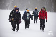 Looking for some winter adventure but not sure where to start? Explorers' Edge is home to tons of guided adventures for some winter fun. http://explorersedge.ca/guided-winter-adventures-try-something-new-in-2015/ #winteradventures #guides
