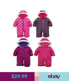 466a39531 Pink Platinum Baby Girls One Piece Warm Winter Puffer Snowsuit Pram Bunting