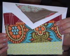 """easy """"quilted"""" stationary! http://www.facebook.com/pages/Sew-Memphis/302113773177386?sk=photos"""