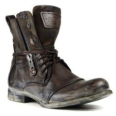 TITANIUM BROWN Limited edition by Bunker Footwear.