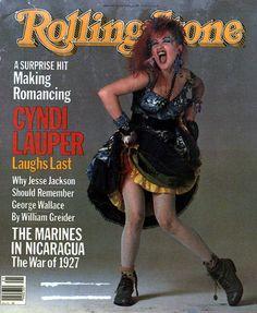 Cyndi Lauper RollingStone Cover 1984