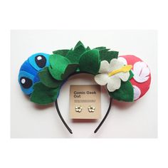 Hey, I found this really awesome Etsy listing at https://www.etsy.com/listing/233730838/minnie-ears-lilo-stitch-themed