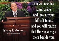 Stand beside me Lds Quotes, Inspirational Quotes, Motivational, President Monson, My Redeemer Lives, Church Quotes, Saint Quotes, Great Words, Quotes About God