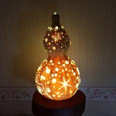ひょうたんランプどうやって作ったんでしょうひょうたんランプ