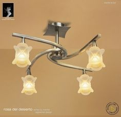 Rosa Del Desierto is a modern contemporary lighting collection from Mantra Ligihtng Mantra, Wall Lights, Ceiling Lights, Modern Contemporary, Track Lighting, Sconces, Collection, Home Decor, Desert Rose