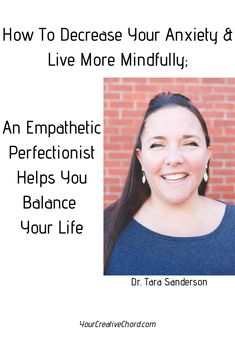 """An Empathetic Perfectionist Helps You Balance Your Life. My review of Dr. Tara Sanderson's new ebook, """"Too Much, Not Enough A guide to decreasing anxiety and finding balance through intentional choices.""""   perfectionism, overachiever, depression, anxiety, new authors, book review, personal development, self improvement, personal growth, relationships, balance, coping, therapy, mindfulness, being present, psychology, stress relief, Dr Tara Sanderson, yourcreativechord, Jenny-Leigh-Hodgins"""