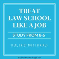 Advice law school professors want 1L's to know   brazenandbrunette.com