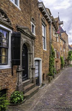 Muurhuizen in #Amersfoort (Townwall houses)