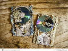 Scrapbook card money pocket for men by Maria Lillepruun
