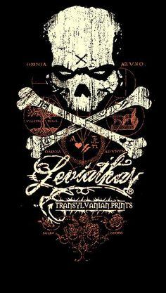 ''DarknesSkull'' Leviathan© ••• #design #creative #create #poster #graphic #vintage #diseño #lifestyle #rockNroll #punk #rockabilly #hotrod #motocicletas #bikers #psychobilly