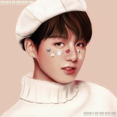 Find images and videos about kpop, bts and jungkook on We Heart It - the app to get lost in what you love. Bts Jungkook, Fanart Do Jungkook, Kpop Fanart, Jikook, Die Beatles, Bts Girl, Bts Aesthetic Pictures, Bts Drawings, Bts Korea