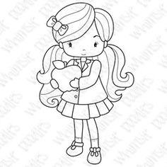 School Digi's -  Whimsie Doodles  Digi-stamp